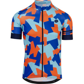 AGU Camo Tile Short Sleeve Jersey Men oxford blue